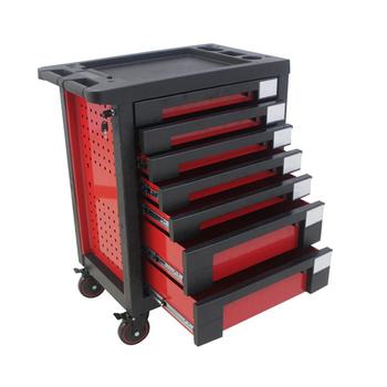 b0cf9d8b184 7 Drawers Professional Tool Cabinet Roller Kraftwelle Tool Trolley ...