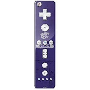 Kansas State University Wii Remote Controller Skin - Kansas State Wildcats Distressed Vinyl Decal Skin For Your Wii Remote Controller