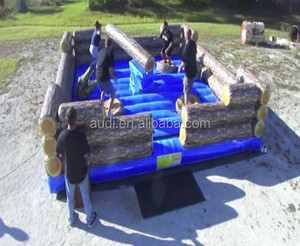 Best Selling! Inflatable Log Jump Inflatable Bar Jump For Adults