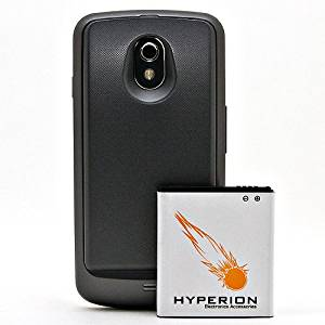Hyperion Verizon Samsung Galaxy Nexus 3800mAh Extended Battery + Back Cover (Compatible ONLY with Verizon Samsung Galaxy Nexus SCH-i515)NOW WITH NFC CAPABILITIES