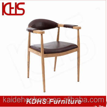 French Oval Back Dining Side Chair Leather Recling Chairs