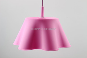 E27 Colourfull silicone pendant lamp / lighting / plastic ceiling rose