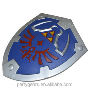Free Sample Medieval Viking EVA Foam Shield Zelda Shield for Live action role play game