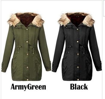 Free Shipping Instyles Winter Coats Women Jackets Real Large Raccoon Fur Collar Thick Ladies Down