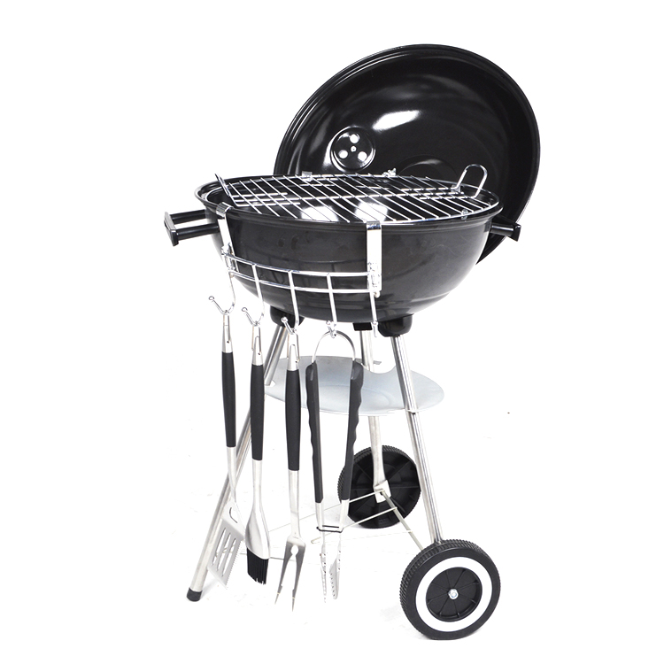 Chinese KEYO manufacturer wholesale cheap outdoor garden camping BBQ barbecue grill with wheels