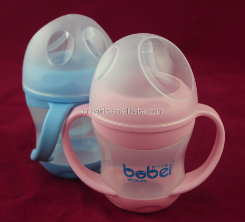 Amazon Eco-Friendly BPA free Baby sippy Cup lids /Kids training cup /Baby Toddlers Drinking Training Cup