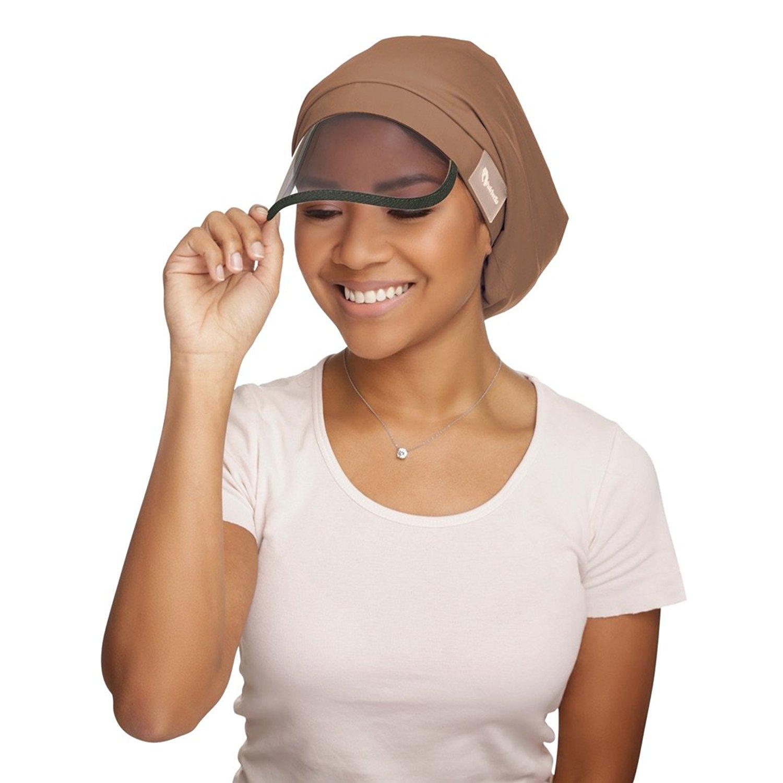Get Quotations · Hairbrella Women s Rain Hats Waterproof Rain Hat Bonnet  Satin-Lined Cap UV Protection Sun Visor 34496906d7e5