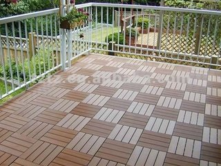 Attractive Financial High Cost-Effective Wood Plastic Composite Deck Tile