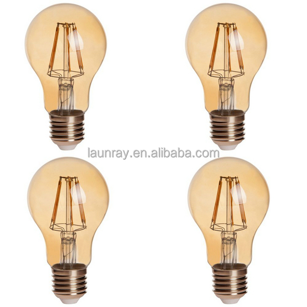 Led Filament Bulb 2W 4W 6W 8W Filaments Leds with High Lumen Leds 120lm/w Ra85 PF0.8