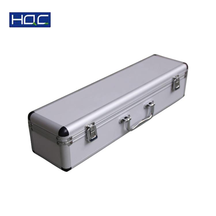 Custom foam Carrying Guns Storage Case Hard shell aluminum carrying gun case
