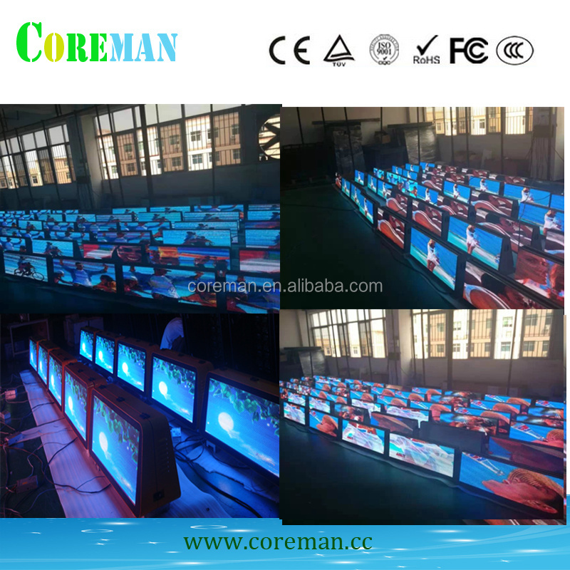 led light advertising sign board on a taxi p6 outdoor led screen led die cousting cabinet manufacturar