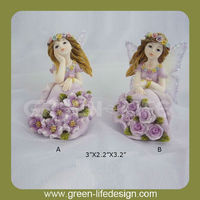 Colorful Polyresin spring fairy