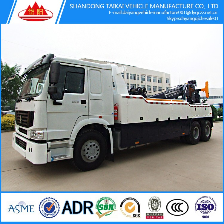 Biggest manufacturer 8x4 40tons howo wrecker tow <strong>truck</strong> wrecker <strong>truck</strong> for sale/howo