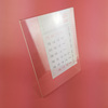 L type tabletop acrylic sign holder 8.5 x 11