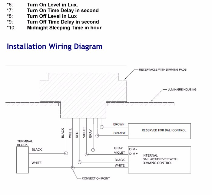Lighting photocell wiring diagram 110 dolgular online hot products intelligent dimming photocell 110 277vac for asfbconference2016 Gallery