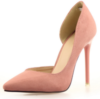 2015 global selling latest design customize high heel thick heels manufacturering lady shoes