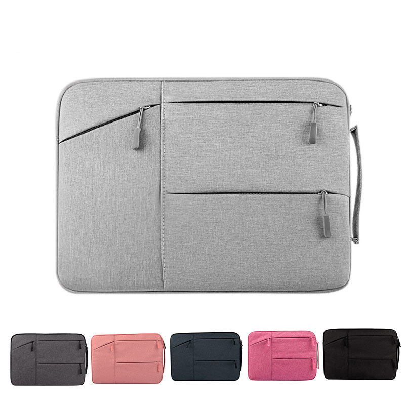 Wholesale Custom Waterproof Black Laptop Sleeve Bag 14 15.6 Inch Laptop Sleeve Case For Macbook