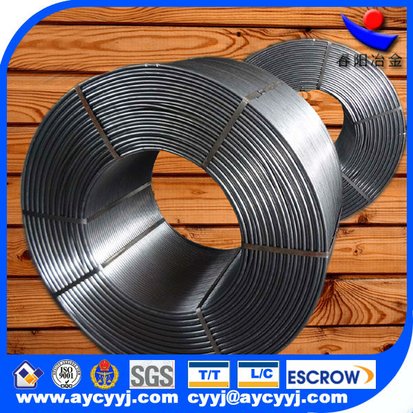 calcium silicon alloy cored wire china exporter/supplier/dealer