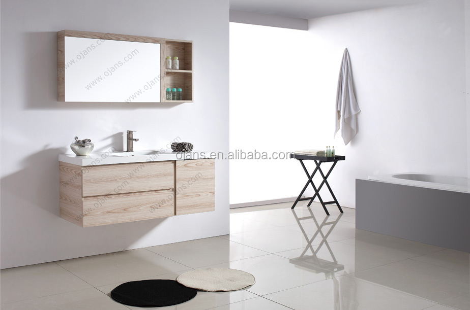 modern bathroom furniture solid wood bathroom vanity cabinet units  ojs070-1200 - buy solid wood bathroom vanity units,modern bathroom