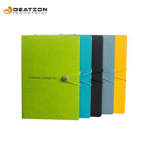 Custom Colorful PU Leather Notebook Business Notebook
