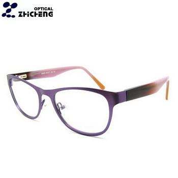 77f61a67dce5 2018 china wholesale optical eyeglasses frame hot sell women metal fancy  glasses