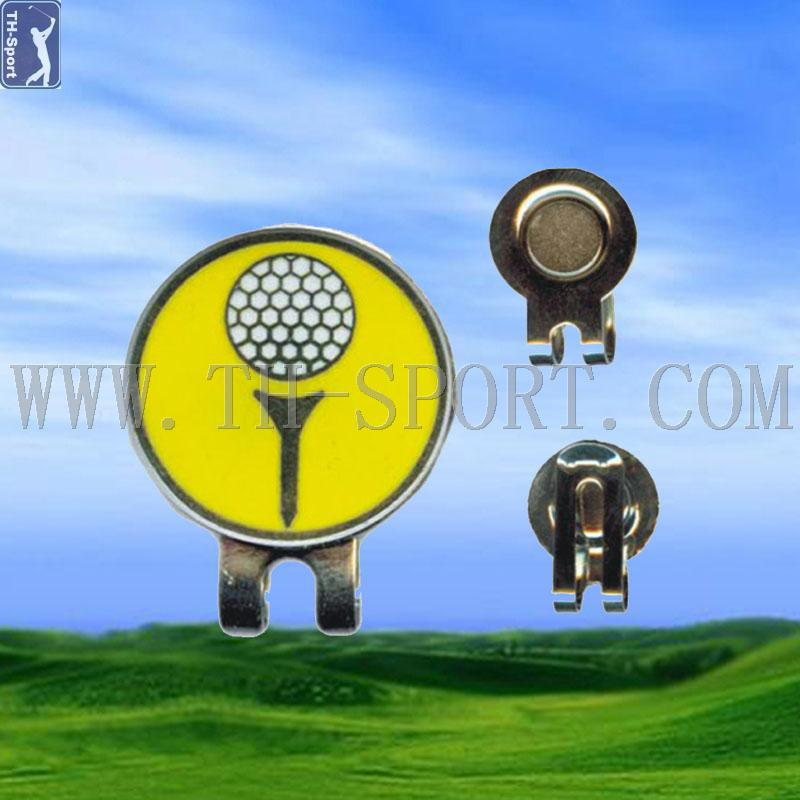 Golf Hat Clip With Golf Ball Marker Magnetic