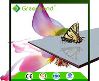 Greenbond certificate authentication free sample aluminum composite panel 4mm price