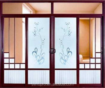 High Quality Aluminum Interior Sliding Glass Barn Doors Suppliers With  AS2208