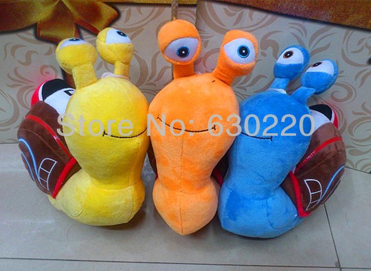 DreamWorks Movie Turbo Snail Plush Toy Racing Snail ...