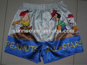 Position Bedrucktem Satin Boxershorts - Buy Satin Boxershorts,Flanell Boxershorts Für Männer ...