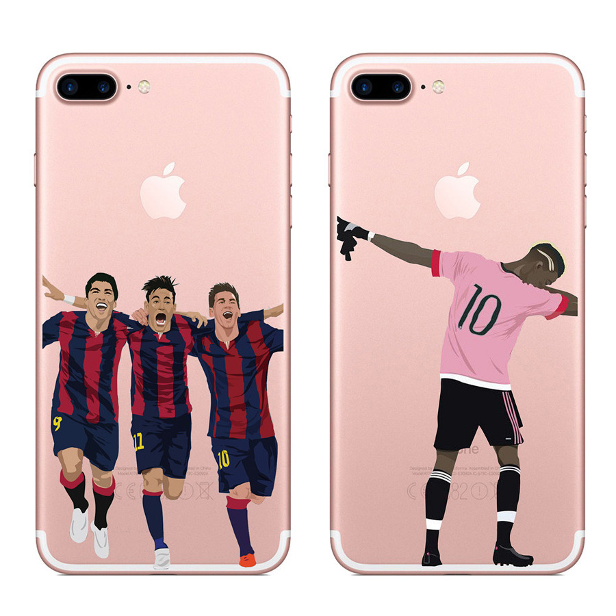 Oemodm Soccer Star Phone Case For Iphone 8 Plus Nba Case Covers