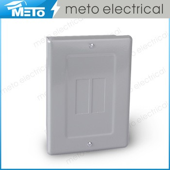 Zhejiang Meto Electrical 120/240V MTS Series 0.8-1.2mm thickness reliable economy distribution panel 2 way load center