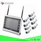 8ch NVR 1080p wireless surveillance camera kit ir night vision ip spy cam cctv kit 8 cameras