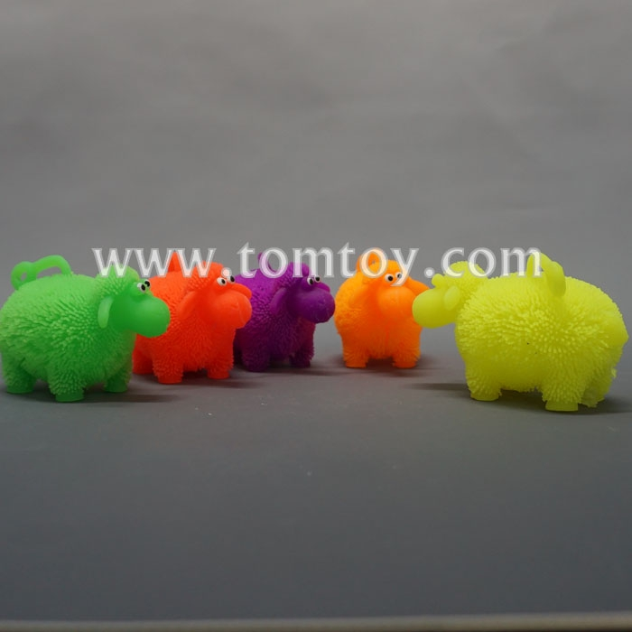 2018 Custom Light Up Sheep Shapes Pull String Ball Toys
