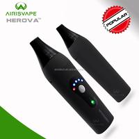 2017 electronic products Airistech Herova baking device ceramic heating element Portable Dry Herb smoking 18650 vaporizer