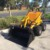 digging machine mini loader mini digger for garden mini skid steer trencher