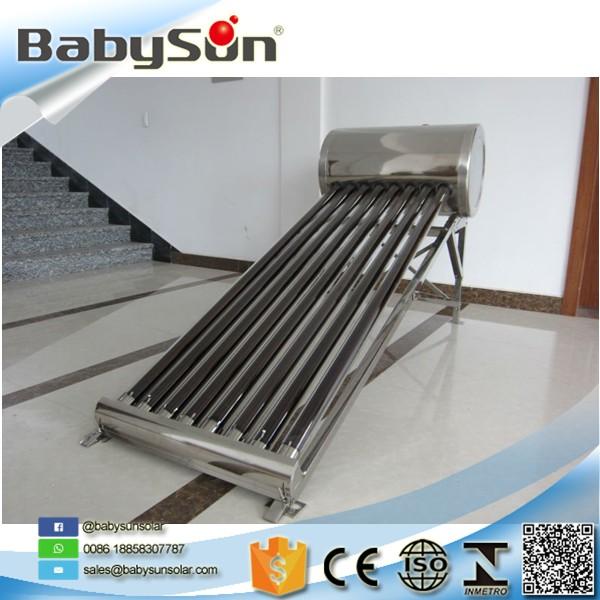 Ampliamente utilizado calentador solar de acero - Acero galvanizado precio ...