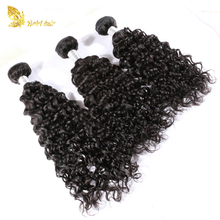 Wholesale Price Top Quality 100% Human Hair Weave Virgin Indian hair deep curly