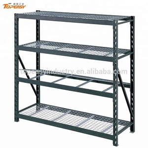 hot selling metal storage slotted angle iron racks