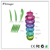 10-in-1 Multifunction New Arrival Salad Pot As Seen On Tv Latest Fruits Plant