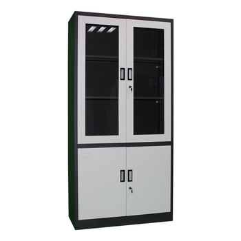 the latest bd6ef 0290c Top Glass Steel File Cupboard A4 Folder Storage White Swing Door Office  Cabinet - Buy Swing Door Office Cabinet,Swing Door Office Furniture Steel  File ...