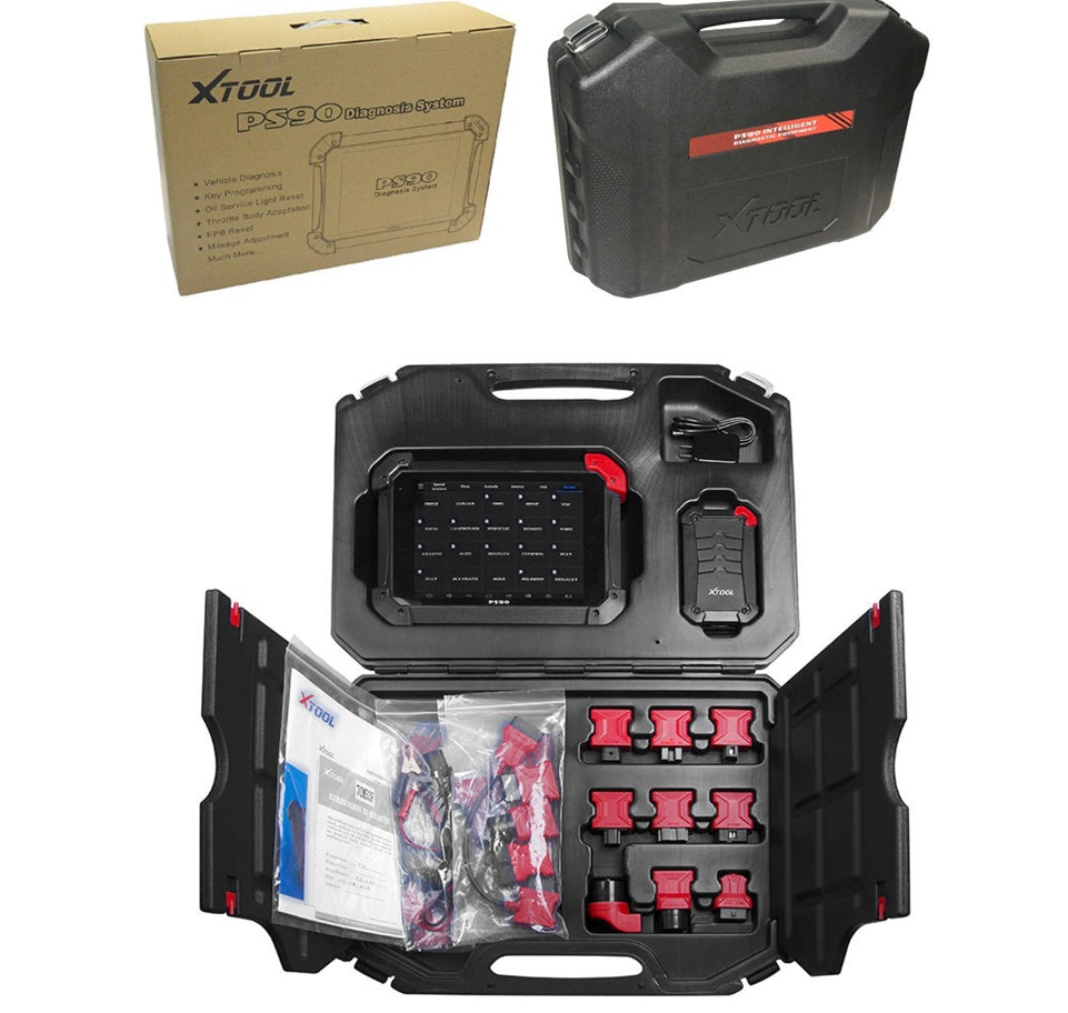 Xtool Diagnostic Tool Scanner Ps90 Auto Code Reader Immobilizer/mileage  Adjustment/dpf/eps/tps/epb - Buy Scanner Ps90 Xtool,Xtool Ps90,Xtool Key