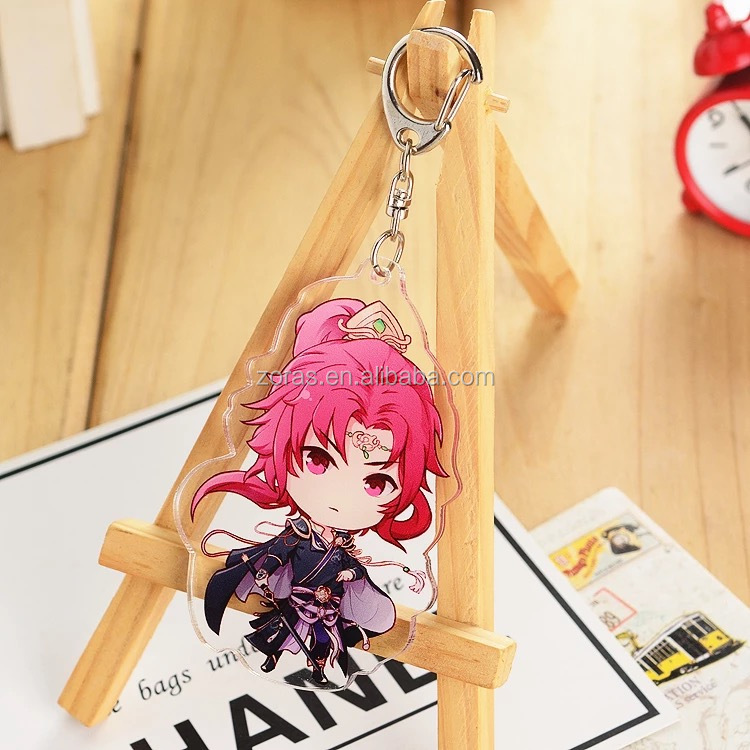 Paypal Payment Acceptable Customized Logo 100%Handmade Custom Printed Acrylic Charms