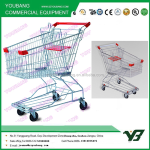 HOT SALE!Asian style used shopping carts sale/push carts