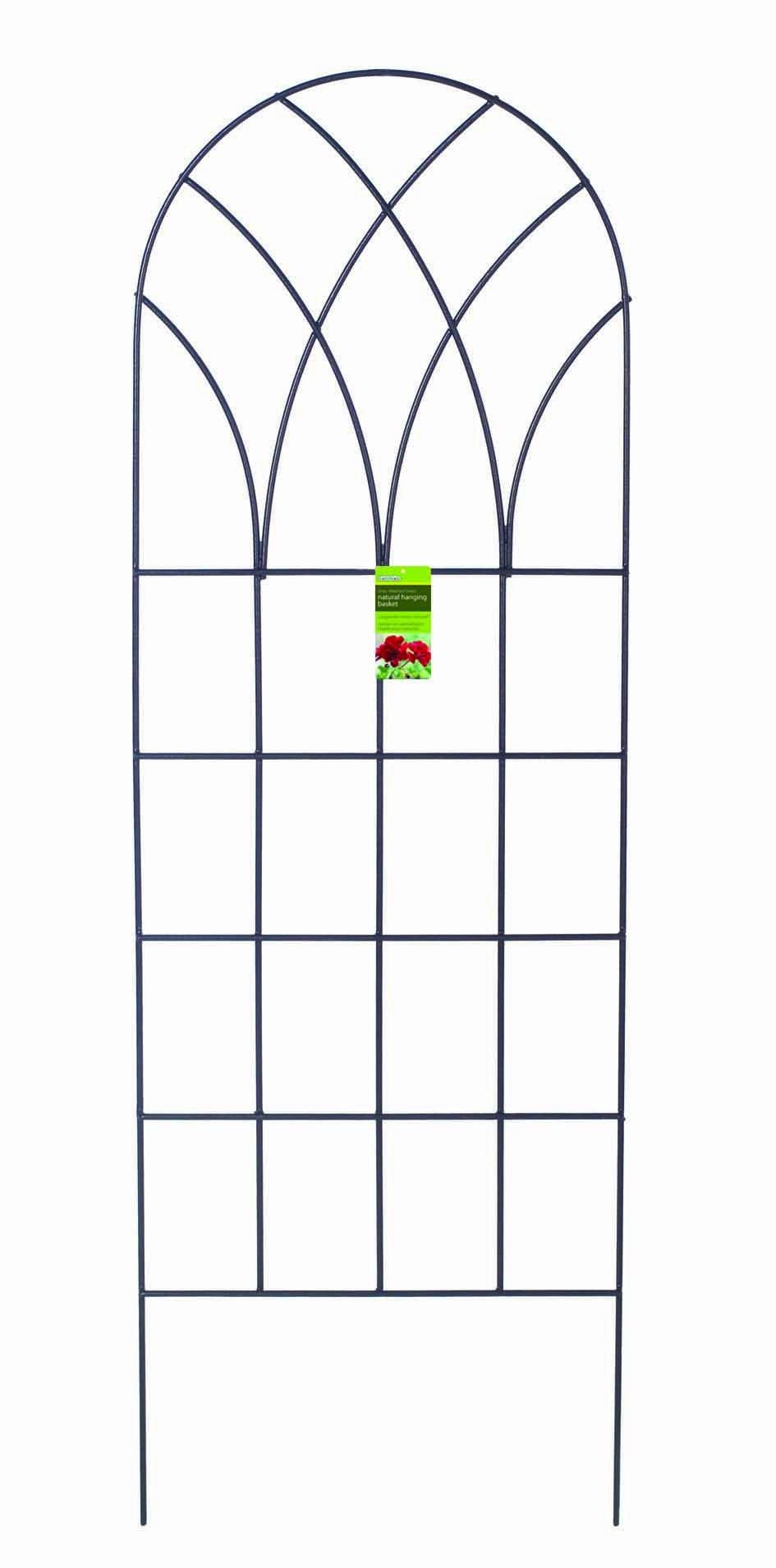 """Gardman R556 Gothic Trellis Panel, 24"""" Wide x 72"""" High"""