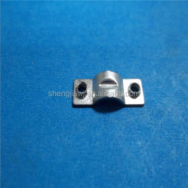 Sheet metal high precision insulated flat metal terminal