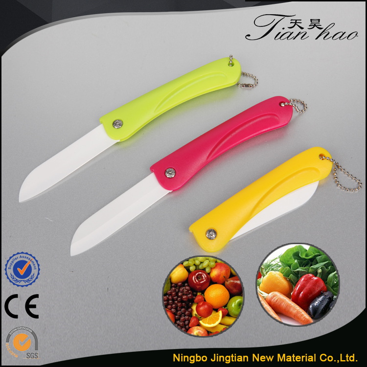 Pelar la fruta de cer mica cuchillo de bolsillo cuchillo for Cuchillo fruta