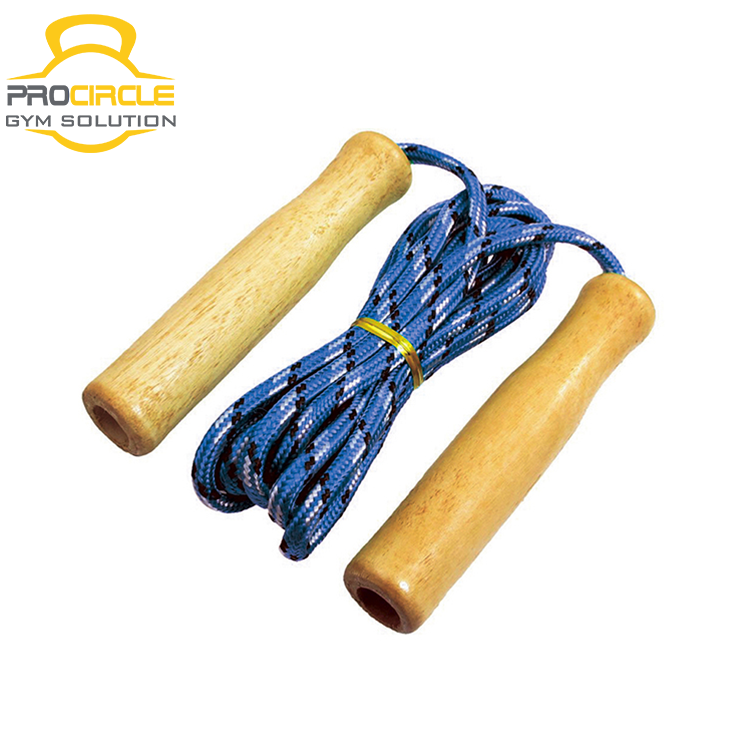 Procircle wooden handle jump rope for kids