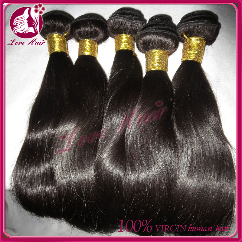 7A Indian Virgin Silky straight Human Hair Extension Bundles Wholesale Cheap Remy Raw Hair free shipping
