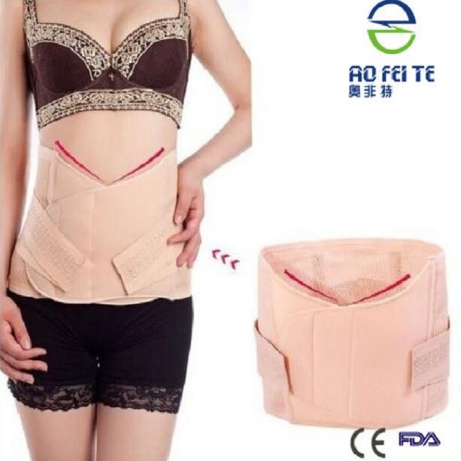 C-section Post-partum Ventre Soutien à La Relance de Shapewear Abdomen Ceinture